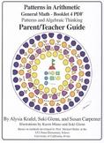 General Math: Booklet 4 - Patterns, Algebraic Thinking Teacher Guide