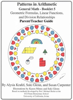 General Math: Booklet 5 Geometric Formulas, Linear Functions Teacher Guide