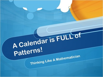 Patterns in Calendars