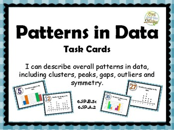 Patterns in Data Task Cards