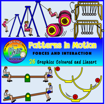 Patterns in Motion Clipart (Forces and Interactions)