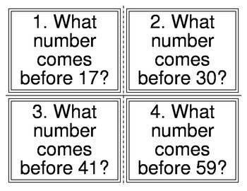Patterns in Numbers Task Cards (32 Cards)