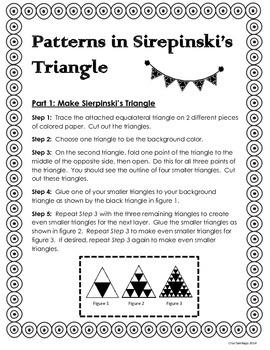 Patterns in Sierpinski's Triangle