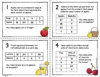 Patterns in Tables {Multiplication and Division}