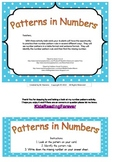 Patterns in numbers