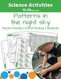 Patterns in the Night Sky: Learning about our Sun and Moon