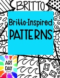 Patterns inspired by Romero Britto