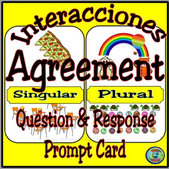 Patterns Of Agreement Interacciones Con El Singular Y El Plural