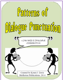 Patterns of Dialogue Punctuation - Writing a Line of Dialo
