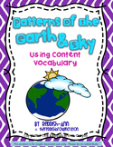 Patterns of Earth & Sky: Using Content Vocabulary