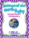 Patterns of Earth & Sky Realistic Photos: Using Content Vo
