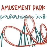 Patterns of Motion Amusement Park Performance Task