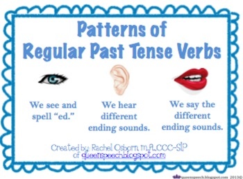 Patterns of Past Tense Verbs