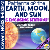 Patterns of the Earth, Moon and Sun Stations {NGSS Aligned}