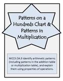 Patterns on a Hundreds Chart-3rd Grade Math Operations & A