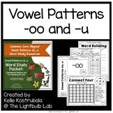 Patterns -oo, -u Word Study Packet: Life Cycle of a Pumpki