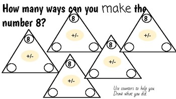 Patterns with Adding: Fact Triangle Discovery