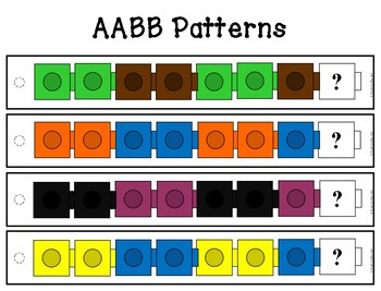 Patterns with Colored Cubes