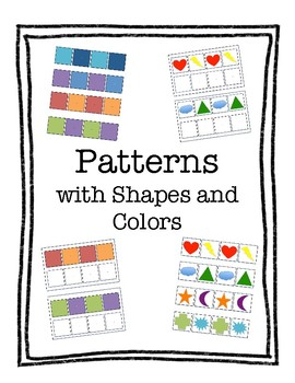 Patterns with Shapes and Colors - An Interactive Activity