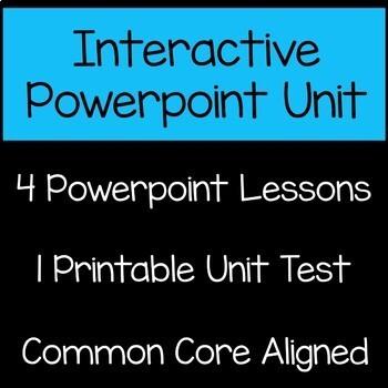 Patterns Math Unit 4th Grade Common Core
