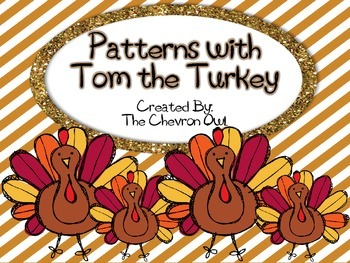Patterns with Tom the Turkey