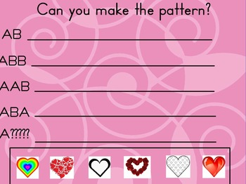 Patterns with Valentines!