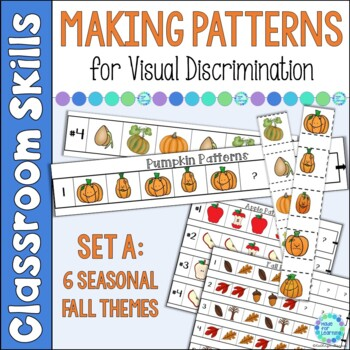 Patterns with a Fall Theme AB AAB ABB ABC