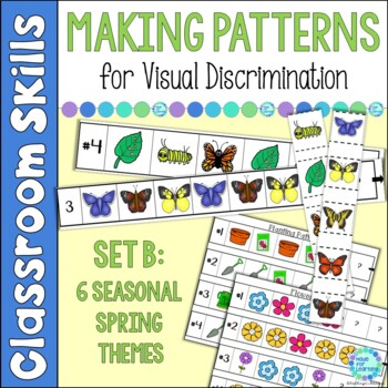 Patterns with a Winter/Spring Theme: AB, ABB, AAB, ABC