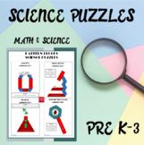 Pattern Blocks Science Puzzles