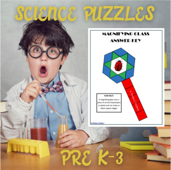 Pattern Blocks Science Puzzles