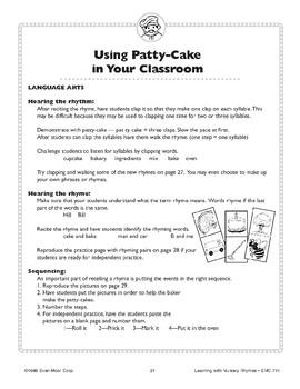 Patty-Cake, Patty-Cake
