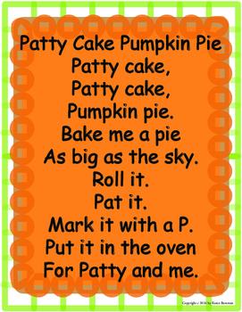 Patty Cake Pumpkin Pie