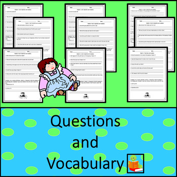 Patty Reed's Doll: Assessments, Questions & Vocabulary