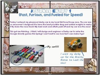 Patty Scientific's Maker Journal (A Bundle of 9 Maker/ STEM Challenges)