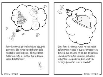 Patty la Hormiga festeja su primera navidad