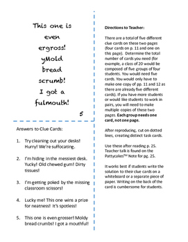 Pattycakes Mentor Text Notes - WORD CHOICE writing trait - Suffixes - Gr.3 & 4