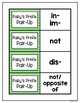 St. Patrick's Day Reading Activity - Prefixes and Suffixes