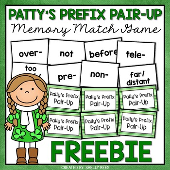 St. Patrick's Day Reading Activity - FREE Reading Center Game