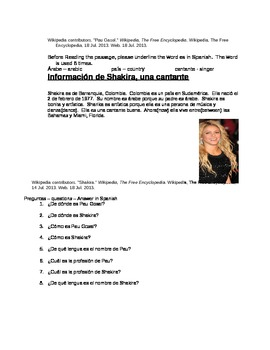 Pau Gosal, Shakira, SER, Common Core Strategies