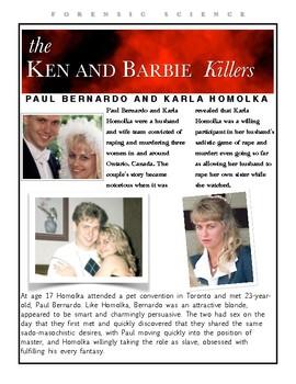 Paul Bernardo and Karla Homolka - The Ken and Barbie Killers w/key