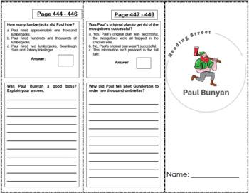 Paul Bunyan - 4th Grade Reading Street