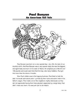 Paul Bunyan: An American Tall Tale