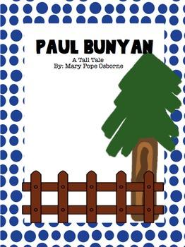 Paul Bunyan Bundle- Scott Foresman Reading Street, 4th Grade