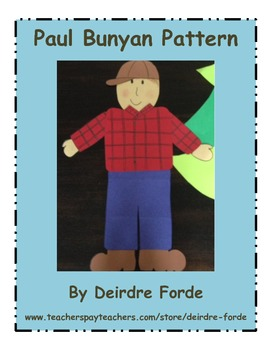 Paul Bunyan  Craft
