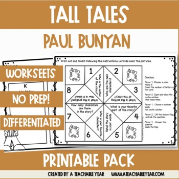 Paul Bunyan - Tall Tales