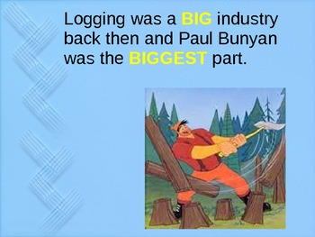 Paul Bunyan Tall Tale