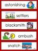 Paul Bunyan Vocabulary Cards