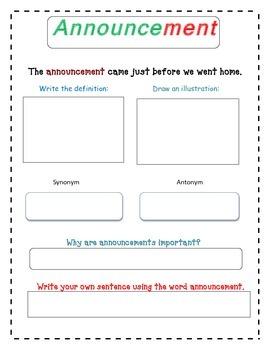 Paul Bunyan Vocabulary Packet