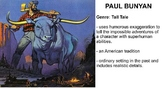 Paul Bunyan Vocabulary Presentation