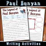 Paul Bunyan Writing Activities Bundle